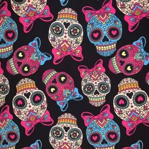 NWT Candy skull 💀 tops !  💀